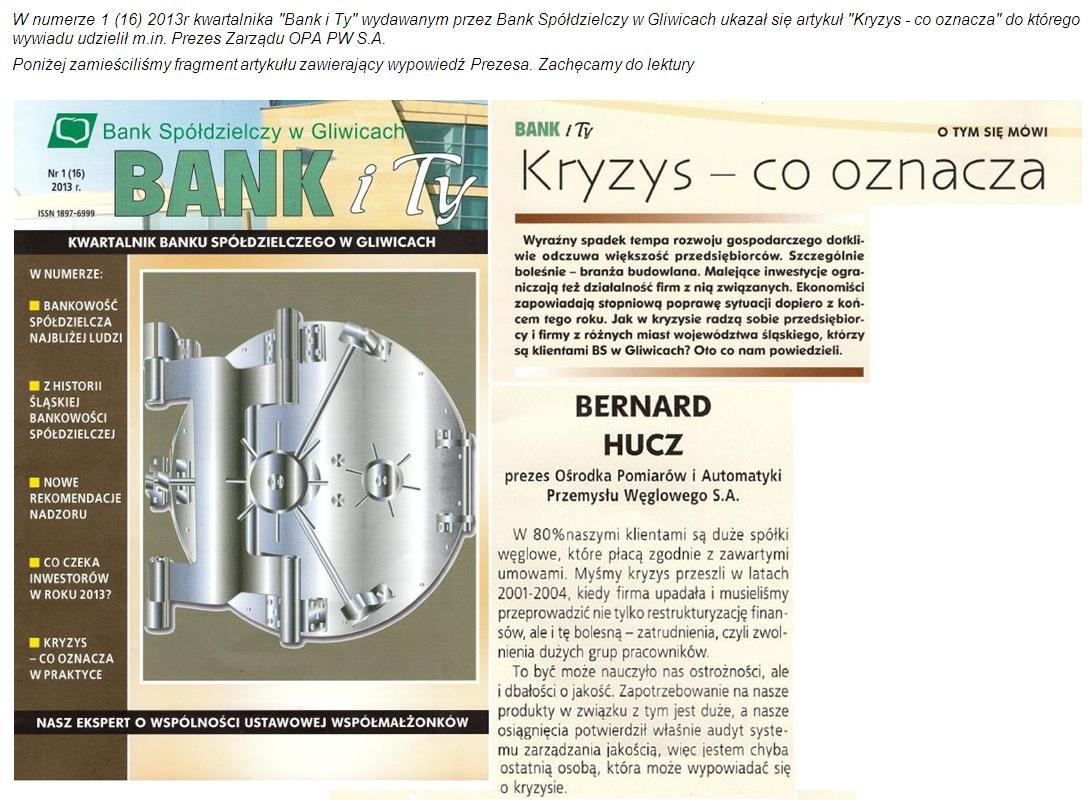 Bank Handlowy - OPA Zabrze