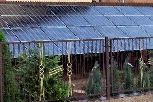 Instalacja fotowoltaiczna o mocy 5,28kWp - wolnostojąca z panelami monokrystalicznymi o mocy 330W każdy firmy EXESolar.