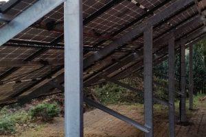 Instalacja fotowoltaiczna o mocy 5,28kWp - wolnostojąca z podporami regulowanymi